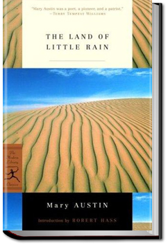 The Land of Little Rain by Mary Hunter Austin