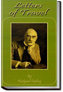 Letters of Travel by Rudyard Kipling