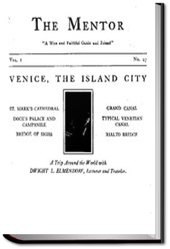 The Mentor: Venice, The Island City by Dwight Elmendorf